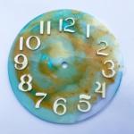 Uhr, Epoxidharz, Effektpigmente