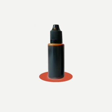 Epoxidharz Farbstoff Flasche, braun