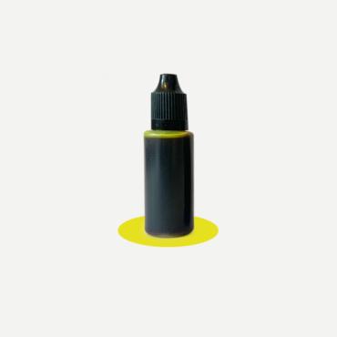 Epoxidharz Farbstoff Flasche, sonnengelb