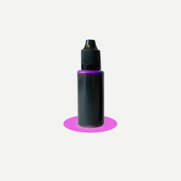 Epoxidharz Farbstoff Flasche, pink
