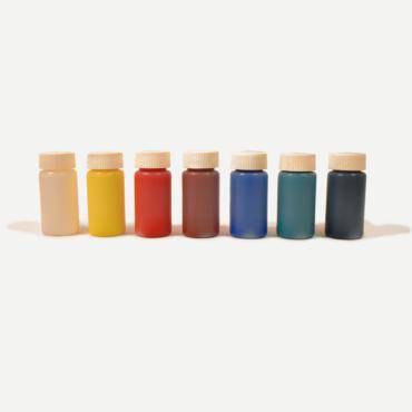 Giessharz Farben deckend (flüssig) 7ner Set