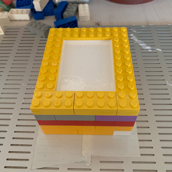 Silikon Mulde aus Legos