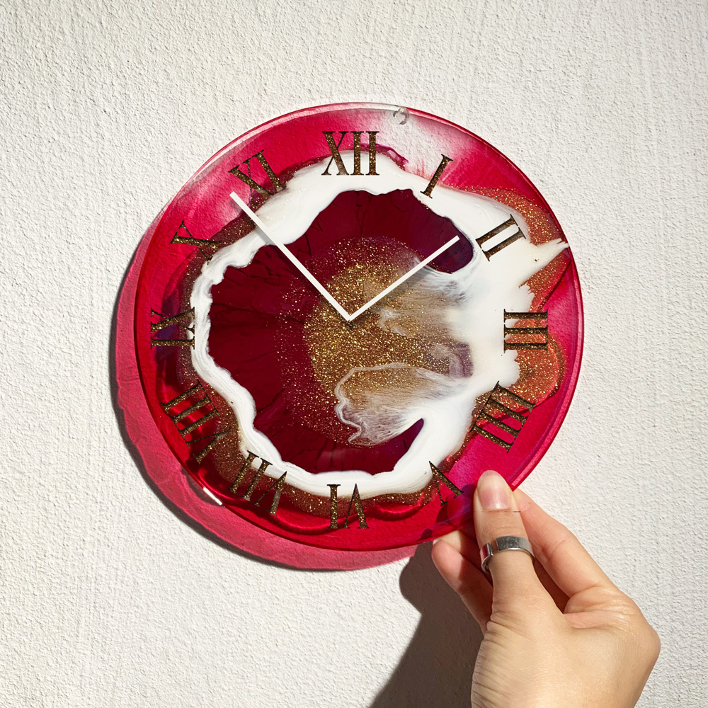 Epoxidharz Uhr