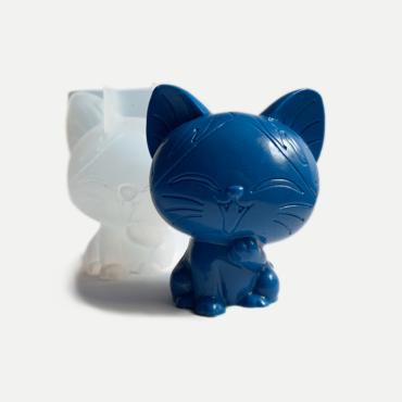 Silikonform Katze 6cm