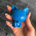 Blaue Katz Schnellgiessharz