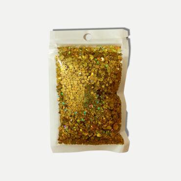 Goldiger Glimmer Flakes